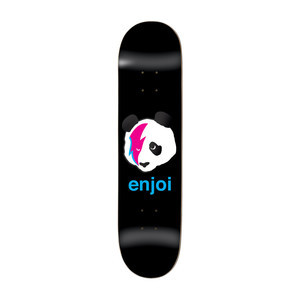 "Enjoi Ziggy Stardust Panda 8.125"" Skateboard Deck - Black"
