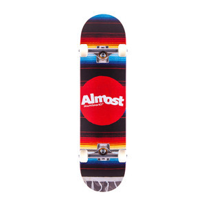 """Almost Mexican Blanket 8.0"""" Complete Skateboard"""