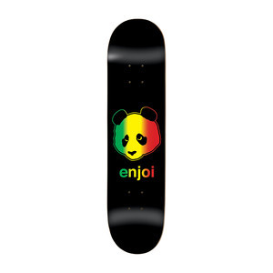 "Enjoi Rastafari Panda 8.125"" Skateboard Deck"