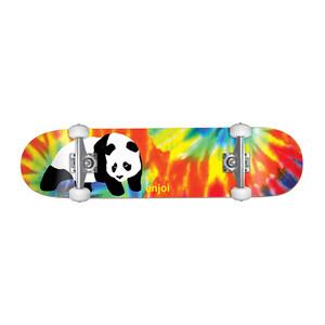 "Enjoi Tie Dye Panda V5 7.75"" Complete Skateboard"