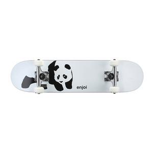 "Enjoi Panda Soft Top 6.75"" Youth Complete Skateboard - Whitey"
