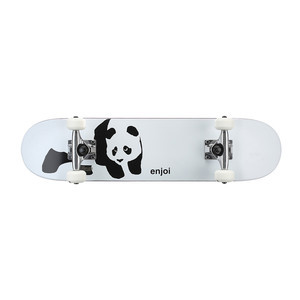 "Enjoi Panda Soft Top 6.75"" Youth Complete Skateboard - Whitey"