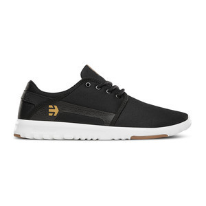 etnies Scout Shoe - Black / White / Gum