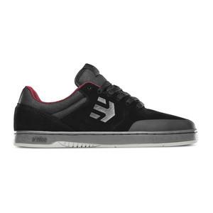 etnies Marana Sheckler Skate Shoe — Black/Dark Grey