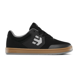 etnies Marana Kids Skate Shoe - Black/Gum/Grey
