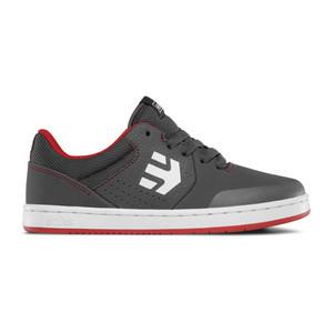 etnies Marana Kids Skate Shoe - Grey/Red/White