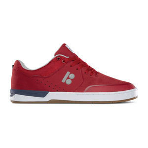 etnies x Plan B Marana XT Skate Shoe - Red/White/Gum