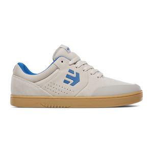 etnies Michelin Marana Skate Shoe - White / Blue / Gum