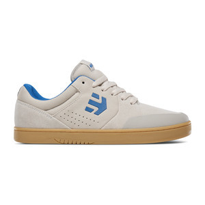 etnies Michelin Marana Skate Shoe - White / Blue / Gum