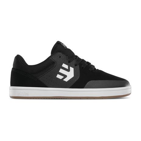 etnies Marana Kids Skate Shoe - Black/Gum/White
