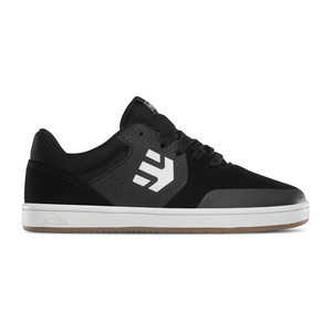 etnies Marana Kids Skate Shoe - Black/Gum/White
