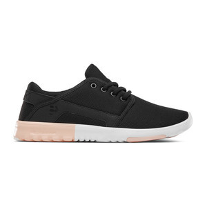 etnies Scout Women's Shoe - Black/Pink/Light Pink