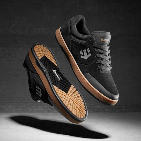 etnies Michelin Marana Chris Joslin Skate Shoe - Black/Red/Gum