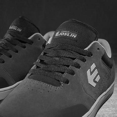 etnies Michelin Marana Chris Joslin Skate Shoe - Dark Grey/Black