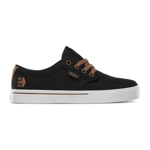 etnies Jameson 2 ECO Kids Skate Shoe - Black / White