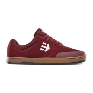 etnies Michelin Marana Skate Shoe - Burgundy / Tan / White