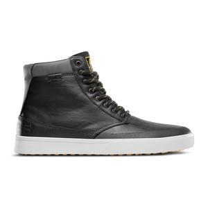 etnies x ThirtyTwo Jameson HTW Skate Shoe - Black/Grey/Yellow