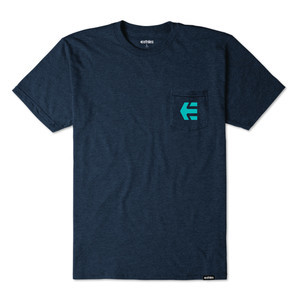 etnies Icon Pocket T-Shirt - Navy Heather