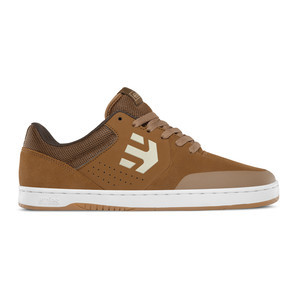 etnies Marana Skate Shoe - Brown/White/Gum