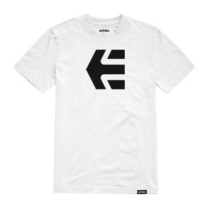 etnies Mod Icon Youth T-Shirt - White