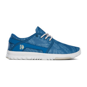 etnies Women's Scout Skate Shoe – Blue/Green