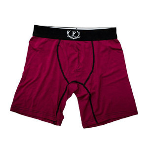 Faded Bamboo Underwear - Burgundy