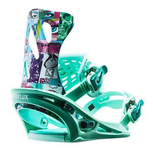 Flux GS Women's Snowboard Bindings 2017 - James Haunt