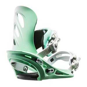Flux GU Women's Snowboard Bindings 2017 - Green