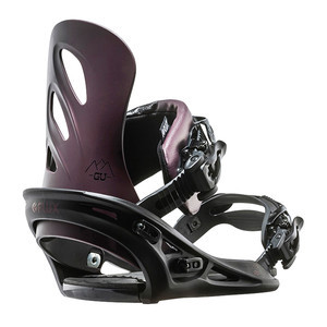Flux GU Women's Snowboard Bindings 2017 - Purple