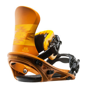 Flux R2 Snowboard Bindings 2017 - Mustard