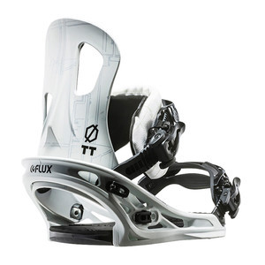 Flux TT Snowboard Bindings 2017 - White