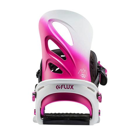 Flux GU Women's Snowboard Bindings 2018 - Pink