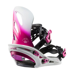 Flux GU Women's Snowboard Bindings 2018 - Pink