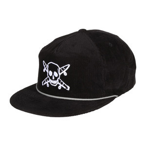 Fourstar Pirate Cord Hat - Black