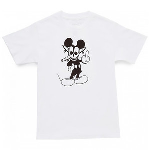 Fourstar Pirate Mouse T-Shirt - White