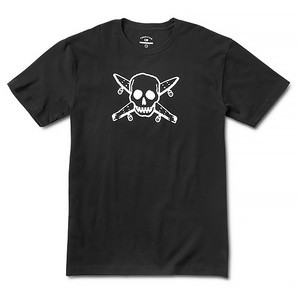 Fourstar Street Pirate T-Shirt - Black