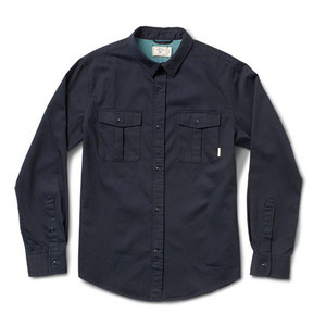 Fourstar Ortega Twill Shirt - Midnight
