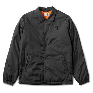 Fourstar Sherpa Coaches Jacket - Black