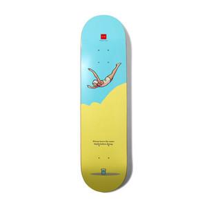 "Chocolate Epiphany Cruz 8.0"" Skateboard Deck"