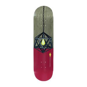 """Girl Illuminated 8.0"""" Skateboard Deck - Biebel"""