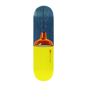 "Girl Illuminated 8.125"" Skateboard Deck - McCrank"