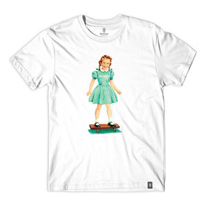 Girl Jane T-Shirt - White