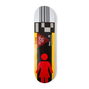 """Girl x Kodak Wilson 8.125"""" Skateboard Deck"""