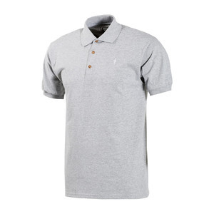Girl OG Polo - Grey Heather