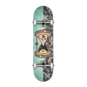 """Globe Gone Tomorrow 8.25"""" Complete Skateboard - Bleached Blue"""