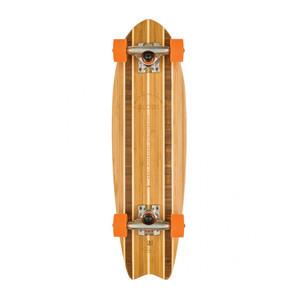 """Globe Sagano Bamboo 26"""" Cruiser Skateboard - Natural"""