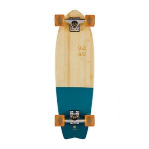 """Globe Sun City 30"""" Cruiser Skateboard - Dipped Blue/Bamboo"""