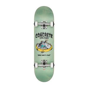 "Globe Concrete Dreams 7.6"" Complete Skateboard - Breeze Green"