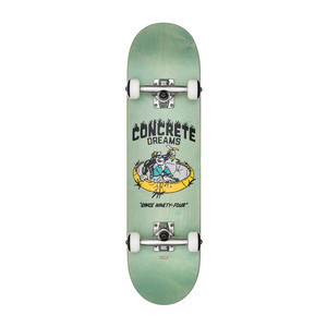 "Globe Concrete Dreams 7.6"" Complete Skateboard - Breeze Green"