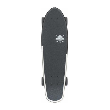 "Globe Blazer 26"" Cruiser Skateboard - Black / White / Serpent"
